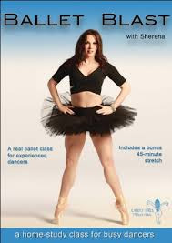 new!  DVD: BALLET BLAST  with SHERENA