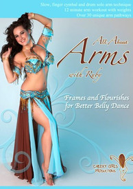 new! DVD: ALL ABOUT ARMS with RUBY