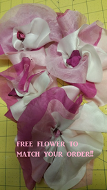 FREE SILK FLOWER! -   THANK YOU!  OFFER w YOUR ORDER!:    COORDINATE  with Your ORDER!