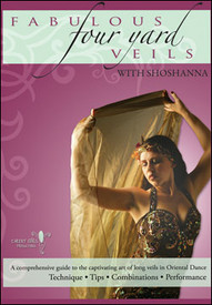 1 left!!  DVD: Fabulous Four Yard Veils with Shoshanna