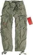 Surplus Airborne Vintage Trousers Olive Green