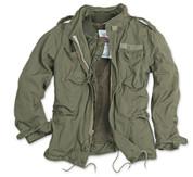 Surplus Raw Vintage M65 Regiment Jacket Olive Green