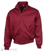 Harrington Bomber Jacket (BURGUNDY)