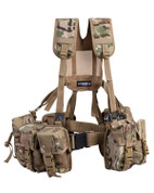 6 Piece PLCE Webbing Set Multicam MTP