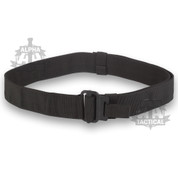 Roll Pin Belt Black Black Buckle