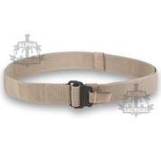Roll Pin Belt Sand Black Buckle