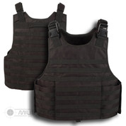 Molle Plate Carrier Black Vest