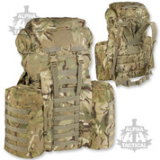 PLCE MTP 120 Liter Rucksack with Side Pockets