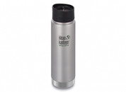 Klean Kanteen Wide Mouth Insulated (592ml Brushed Stainless)