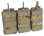 MTP / Multicam Open Top Ammo Pouch Triple SA80