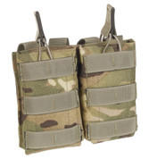 MTP / Multicam Double Open Top Ammo Pouch SA80