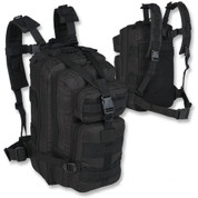 Small Molle Day Sack Black