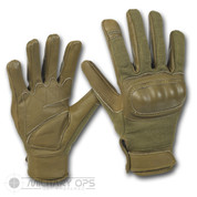 Tactical Hard Knuckle Gloves (Olive Green)