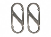 NITE IZE S BINER CARABINER SIZE 1 (steel 2 pack)