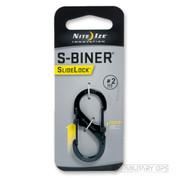 NITE IZE S BINER CARABINER SIDELOCK SIZE 2 (black)