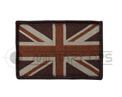 Union Jack Velcro Patch Small (Desert)