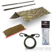 BRITISH ARMY STYLE MTP WATERPROOF BASHA SET 2
