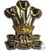 ROYAL WELSH REGIMENT PIN BADGE