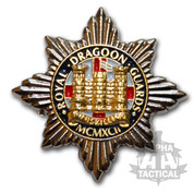 ROYAL DRAGOON GUARDS REGIMENT PIN BADGE