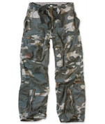 Surplus Infentry Cargo Trouser Midnight Camo