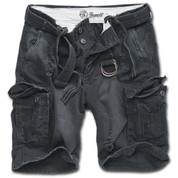 BRANDIT SHELL VALLEY SHORTS BLACK
