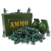 Children's Toy Soldier Ammo Box  Play Set