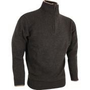 Jack Pyke Ashcombe Crew Knit Half Zip Pull Over Olive