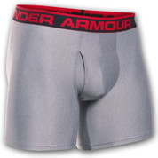 "Under Armour Boxer Jock 6"" Light Grey"