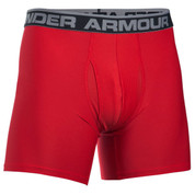 "Under Armour Boxer Jock 6"" Red"