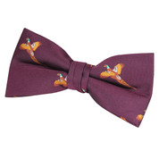 Jack Pyke Pheasant Bow Tie Wine