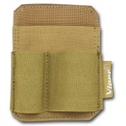 Viper Accessory Holder Patch Coyote