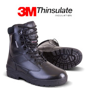 Patrol boot Full Leather Black