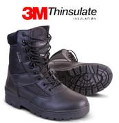 Patrol boot Leather / Cordura Black
