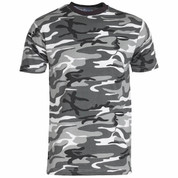 Military Army T Shirt Urban Camoflage