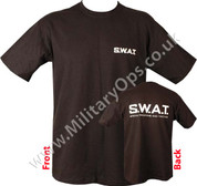 Military Printed NY SWAT T Shirt 2 sided