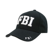 FBI Baseball Cap Black
