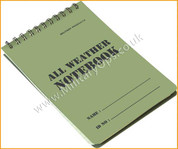 Waterproof Paper Notebook A6 Size