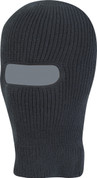 Open Face Balaclava Black