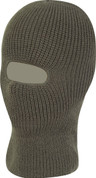 Open Face Balaclava Olive Green