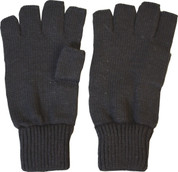 Fingerless Gloves / Mitts Black