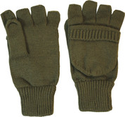 Shooting Gloves Mitts Olive Green