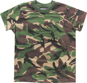 Kids Solider 95 T Shirt DPM Camo 100% Cotton