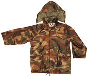 Kids Waterproof DPM Camo Jacket