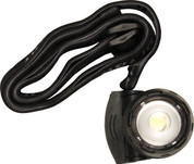 1 LED Micro Headlamp Black