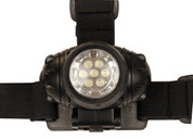 7 LED Headlamp Black