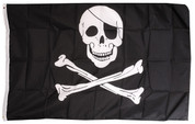 Jolly Roger Flag (Skull & Crossbones)