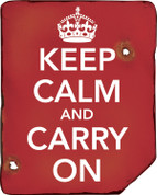 Keep Calm & Carry On Sign