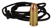 9mm Leather Necklace Brass