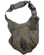 Tactical Shoulder Bag Olive Green