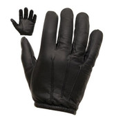 Tactical Security Kevlar Leather Gloves Black